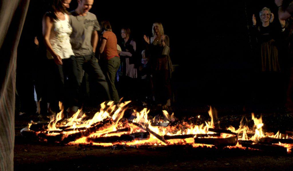 What is Firewalking
