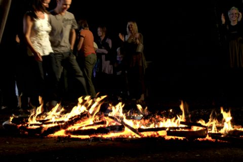 What is Firewalking
